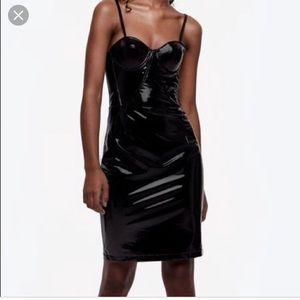 Zandaya Latex dress